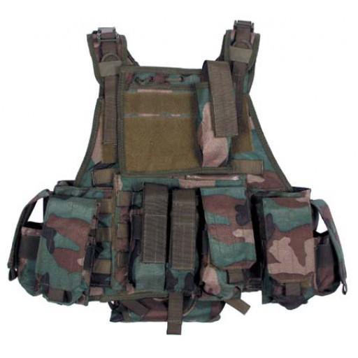 Ce gilet dispose de plusieurs poches de tailles divers pour une meilleur optimisation de votre équipement .