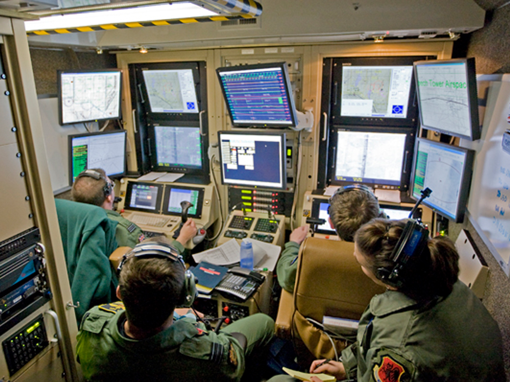 Centre de formation de pilotage de drone aux USA.